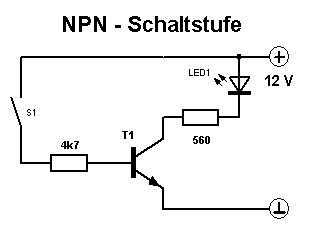 darlington transistor als schalter transistor grundschaltg