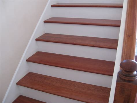 Upgrade Stair Treads and Risers with Hardwood   Unique