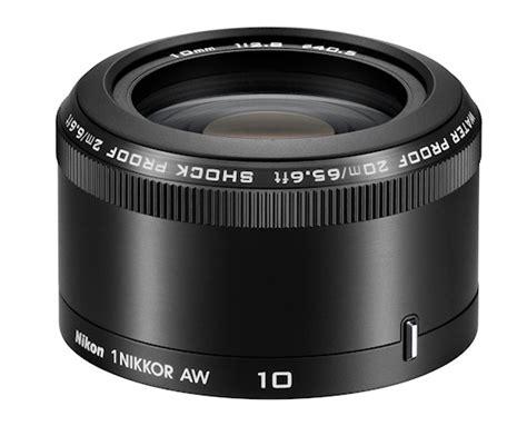 Nikon 1 Nikkor Aw 10mm F 2 8 nikon 1 nikkor aw 11 27 5 mm f 3 5 5 6 oraz aw 10 mm f 2 8