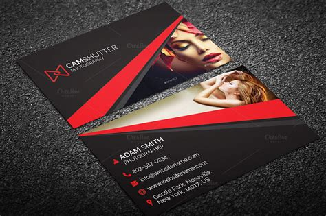 best templates for photographers 10 best photography business card templates