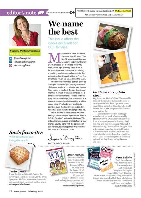 layout editor magazine my editor s note for february 2013 oc family magazine