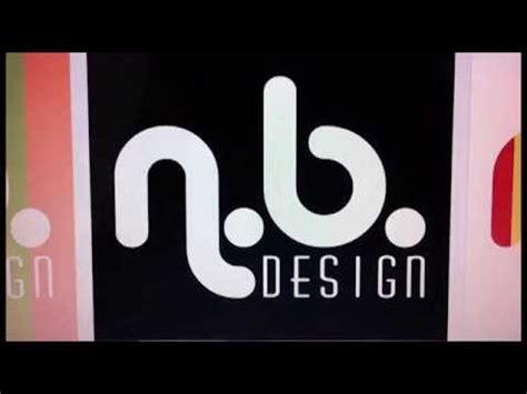 b n nic barnett n b design logo rebrand youtube