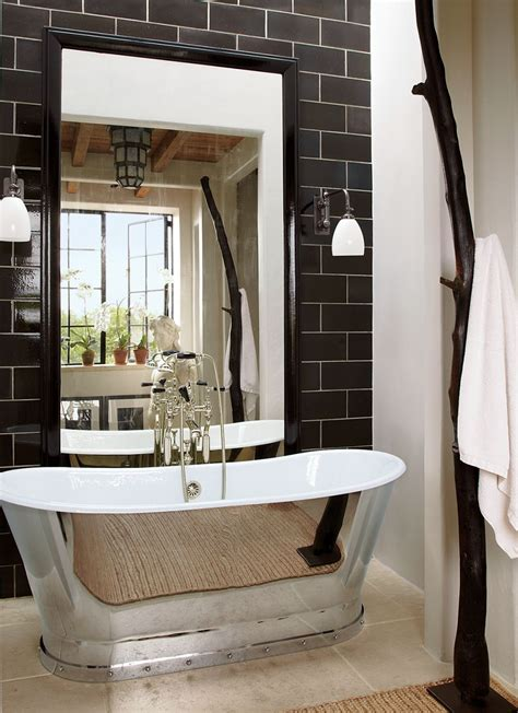 bathtub new york rustic bathroom by alfredo paredes by architectural digest