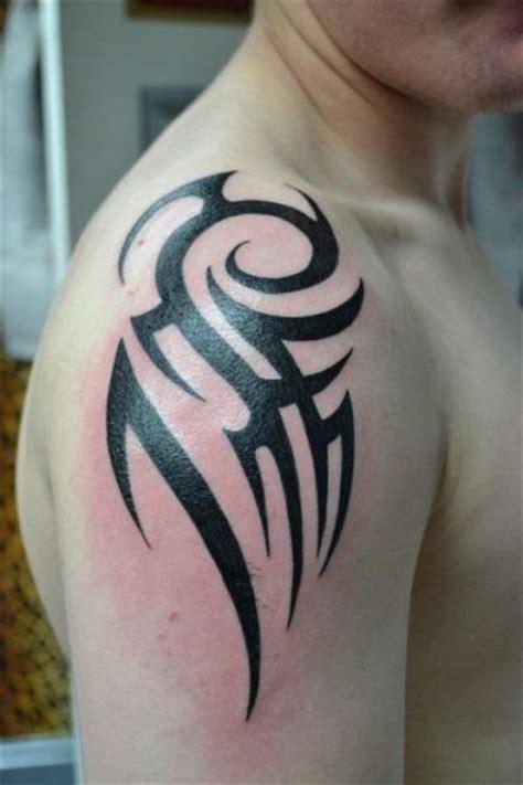 tattoo tribal hombro tatuaż ramię tribal przez alans tattoo studio