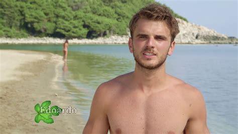 sedere nudo shirtless on the edoardo boscolo nata mostra il