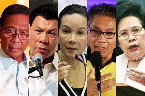 list of candidates for philippine 2016 election pilipinas debates 2016 presidential hopefuls face off