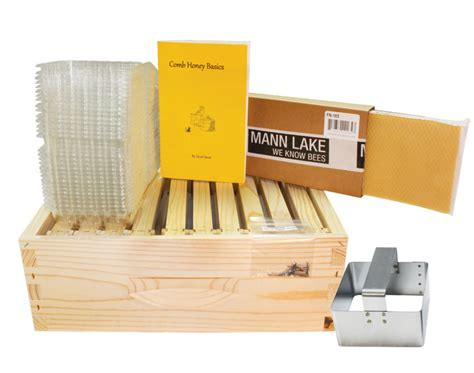 top bar beehive kits 10 frame comb honey super kit bee hive kits mann lake ltd
