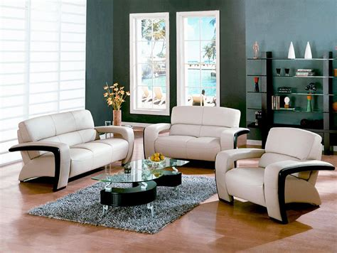 small living room furniture style with glass