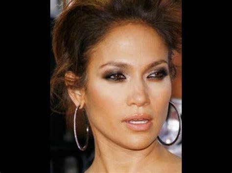 jen makeup tutorial jennifer lopez inspired make up tutorial smokey brown eyes