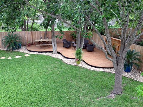 cool backyards cool backyards cool backyard deck design idea 17 futurist