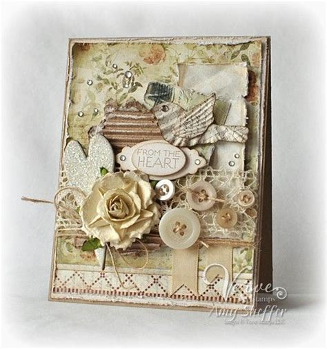 shabby chic cards shabby chic handmade greeting card