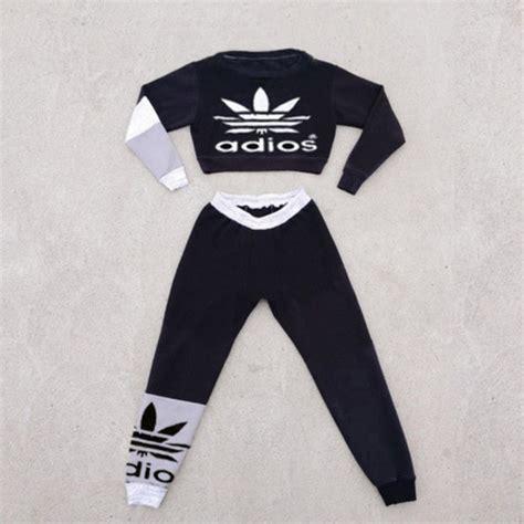Handbell Top Murah Adidas Crop Top Aliexpress