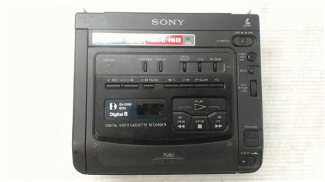 digital cassette sony gv d200 walkman vcr digital cassette