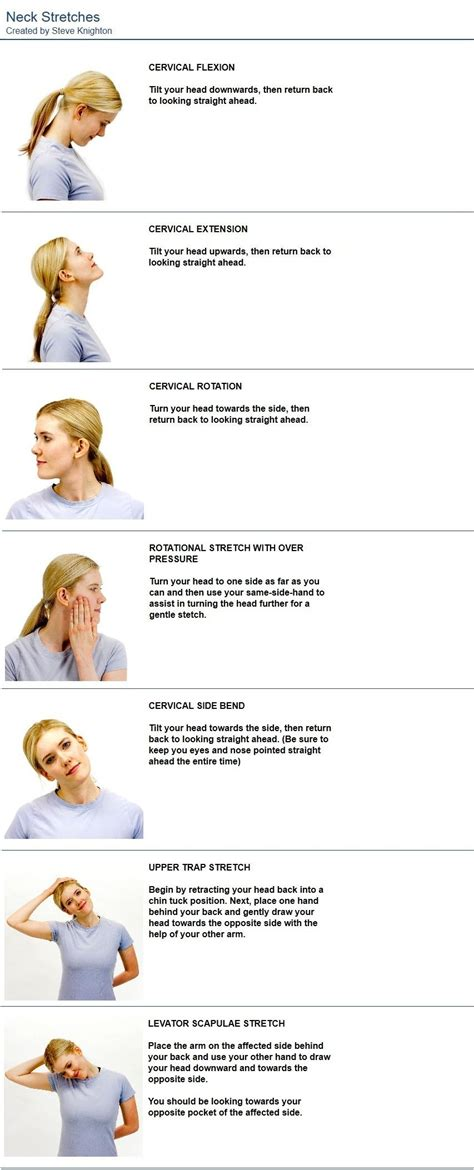 neck stretches to alleviate tension in the neck and shoulders as well neckstretches inuti