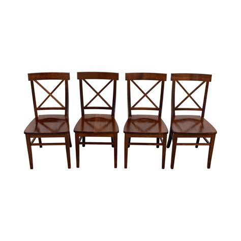 Dining Chairs Pottery Barn 72 Pottery Barn Pottery Barn Aaron Wood Dining Chairs Chairs
