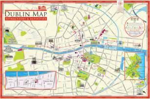 dublin map 5 dublin and surroundings wandelgek nl