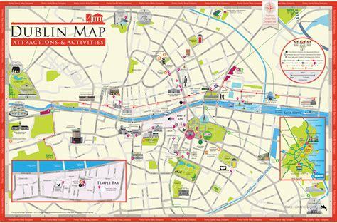 printable street map dublin city centre map of dublin city centre