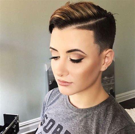 30 Shaved Hairstyles For Women ? Peinado de trenza
