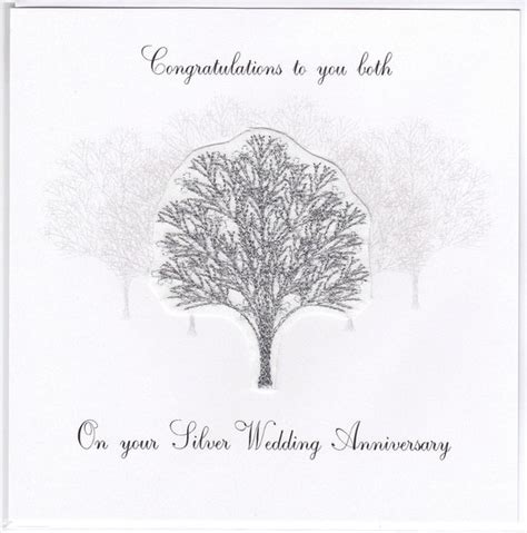 Silver Anniversary Wedding by Silver Anniversary Tree