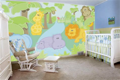 wall murals for baby rooms small safari wall mural decor place wall murals