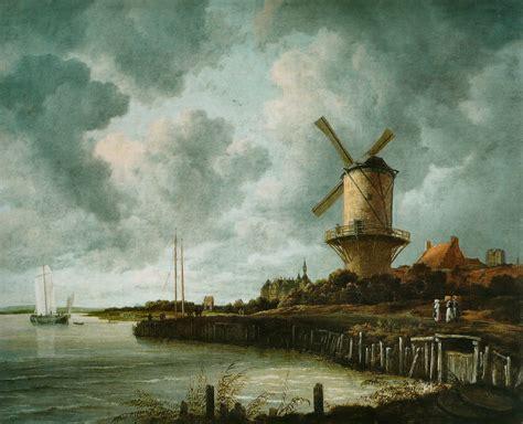 le moulin file jacob isaacksz van ruisdael le moulin de wijk bij