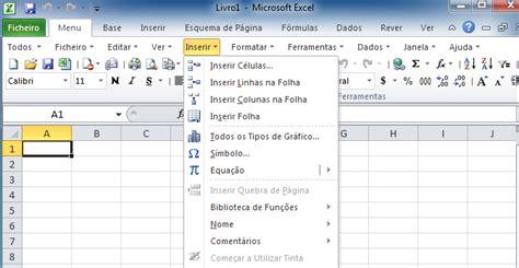 tutorial excel 2010 portugues mostrar menus e barras de ferramentas cl 225 ssicas na faixa