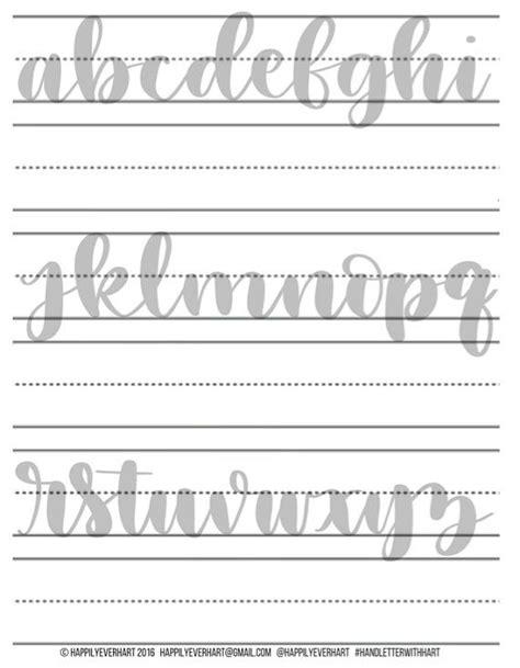 hand lettering tutorial worksheet large hand lettering practice sheets brush pen by
