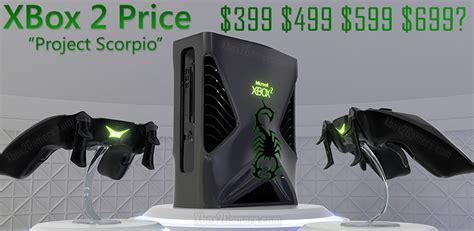 xbox one console cost xbox 2 price guide