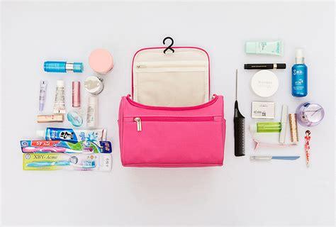 Korean Toiletries Bag pu514 toiletries bag tas kosmetik alat mandi travel bag