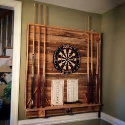 Diy Pool Cue Rack by Dart Board Pool Cue Rack Pool Table Room Pool Cues Dart Board And Darts