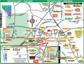 map of hotels in kissimmee florida orlando florida area maps