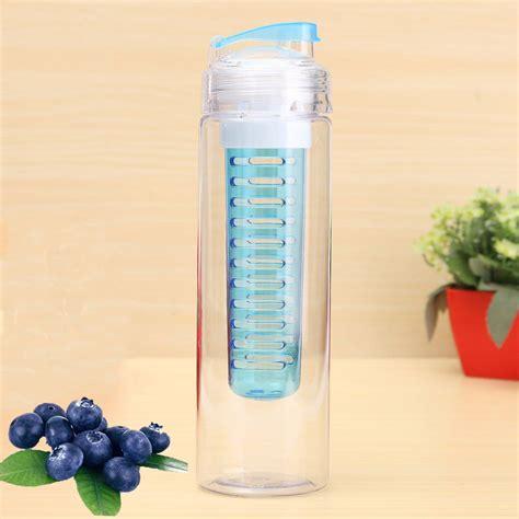 Generasi 2 Tritan Bottle Bpa Free With Fruit Infused Bottle 2 760ml tritan bpa free fruit infusing infuser water sports health juice bottle uk ebay