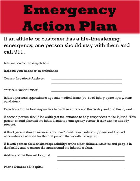 family emergency plan template best photos of sle emergency plan emergency