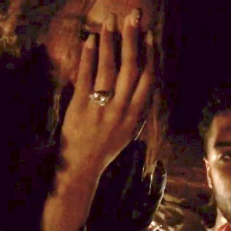 ciara and wilson are engaged see stunning