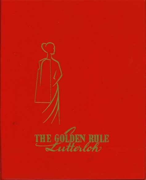 pattern making rules 17 best images about lutterloh the golden rule on