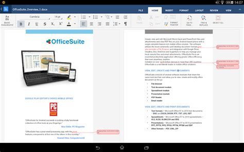 OfficeSuite 8 Pro   PDF   screenshot