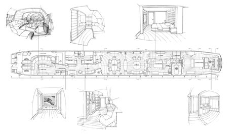 dreamliner floor plan luxury yachts yachts and sunrises on