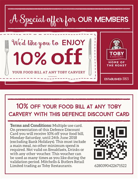 printable vouchers toby carvery thorney island hive toby carvery armed forces offer