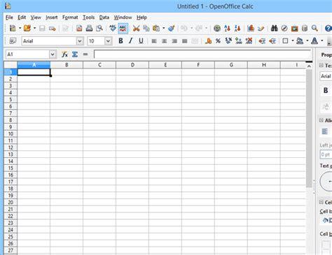 Open Office Spreadsheet Help by 5 Free Spreadsheet Programs