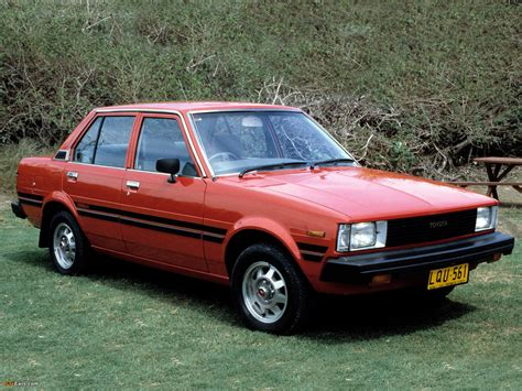83 Toyota Corolla Toyota Corolla Sedan Au Spec E70 1979 83 Wallpapers