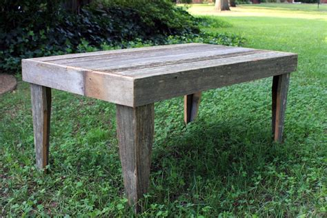 Rustic Outdoor Coffee Table Gray Wood Coffee Table Outdoor Rustic Patio Tables