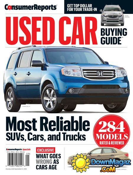 consumer report book consumer reports used car buying guide 2016 187