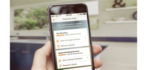 homeadvisor app puts maintenance experts contractors in