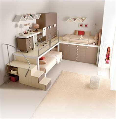 Creative Bunk Beds For Small Spaces Creative Idea To Deal With A Small Bed Room