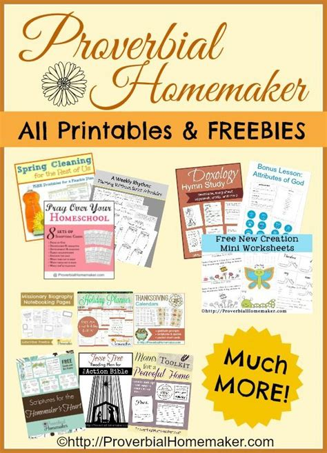 free printable homemaking journal 17 best images about free printables on pinterest