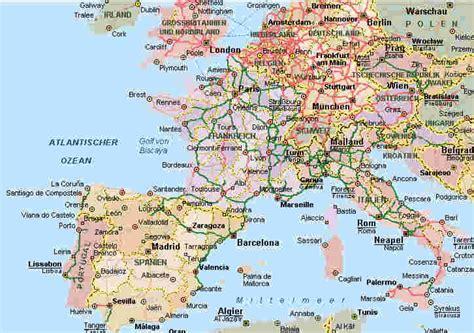 karte deutschland italien unsere reiseziele