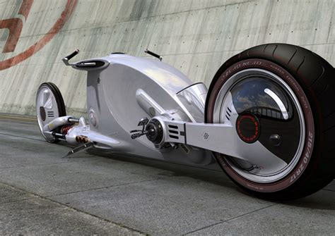 Bugatti Motorcycle Imperial Flatboy Motorcycle Yanko Design