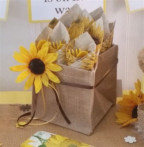 Sunflower Themed Bridal Shower Ideas by Sunflower Baby Shower Burlap Supplies Burlap