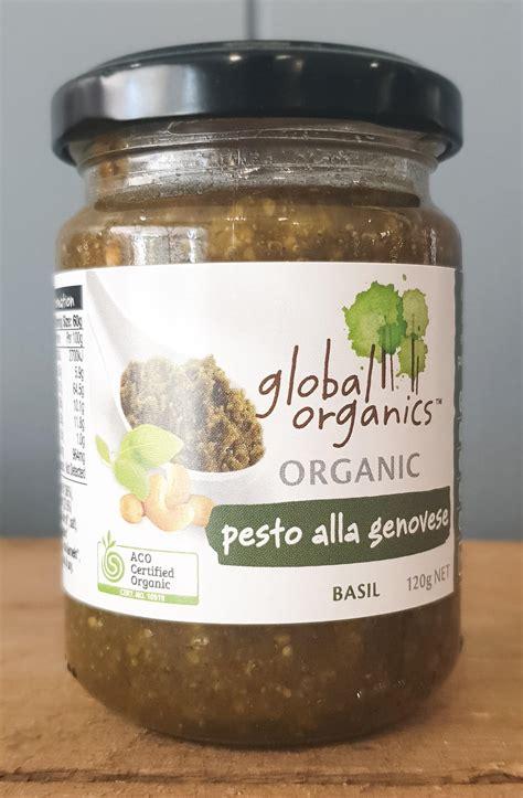 pesto genovese organic  rustic pantry wholefoods