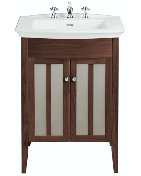 Bathroom Vanity Units Suppliers Heritage Hidcote Freestanding Walnut Unit For Blenheim Basin